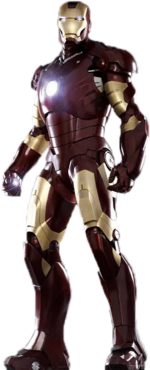 Rendered Iron Man Mark 32