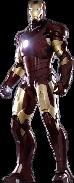 Rendered Iron Man Mark 32