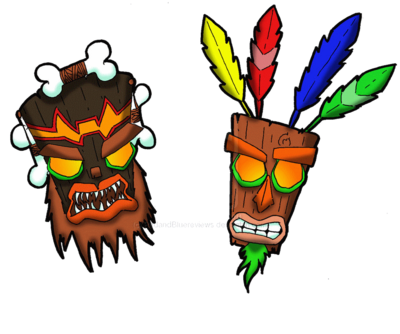 Aku Aku and Uka Uka