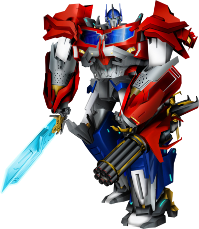 Beast hunters optimus prime by draconis130-d85k5u1