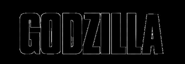 Black Logo Godzilla