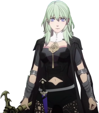 Female Byleth Sothis Fused