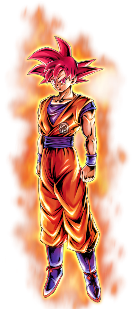 Goku super saiyan god render 2 db legends by maxiuchiha22 dcvkxcl