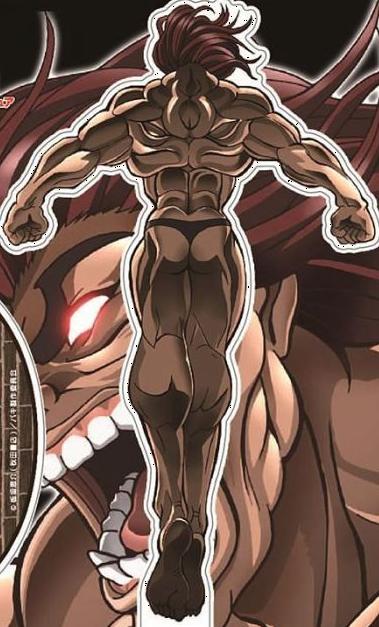 Yujiro demon back BAKI