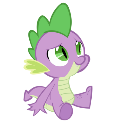 Spike sitting by franpaz-d5h779p
