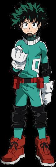 Izuku 2nd hero costume