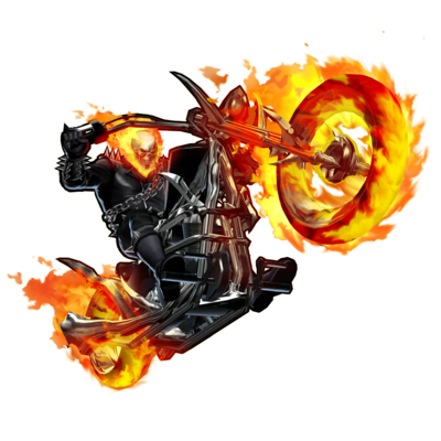 Ghost-Rider-Bike-PNG-File