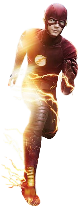 Flash x supergirl transparent background by camo flauge-d9uo7op