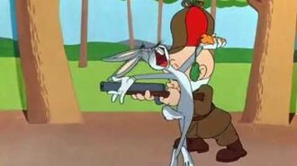 What's up doc? - Bugs Bunny and Elmer Fudd singing