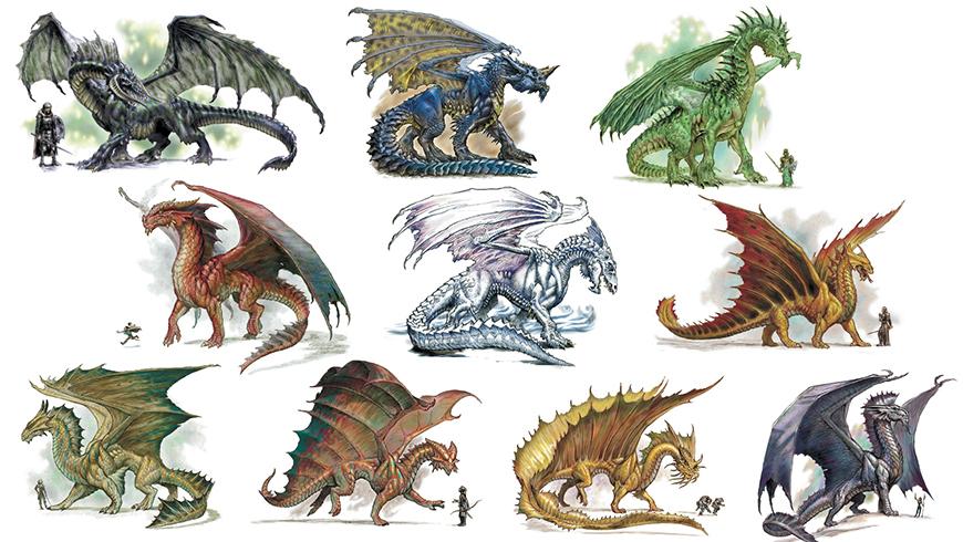 Dnd Red Dragon: Dragon (D&D)
