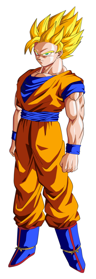Super Saiyan 2 Goku Dragon Ball Z