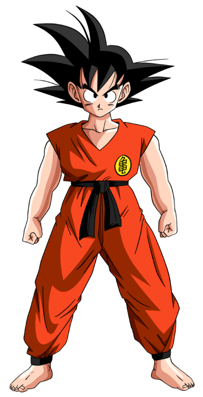 Dragon ball son goku teen by krizeii-d5qder9