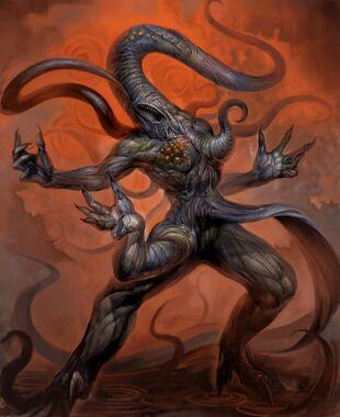 El monstro crawleamthe, bestia morbosa de caos 3000