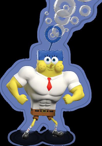 Invincibubble spongebob