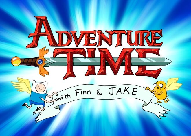 Adventure-time-logo-fin-and-jake-wallpaper