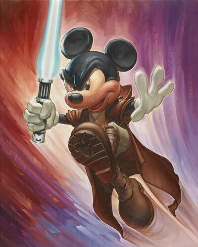 Mickey Won Kenobi