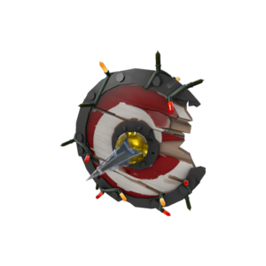 Tf2item festive chargin targe