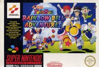 Popn Twinbee Rainbow Bell Adventures SNES cover