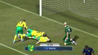 Fifa sockball vita screen
