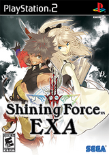 Shining Force EXA Coverart