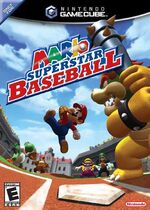 Mario Superstar Baseball GC cover