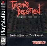 Deception PSX Box Art