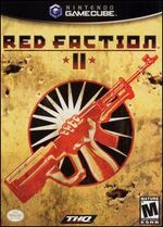 Red Faction 2 GC cover