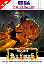 Master of Darkness SMS box art