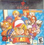 Snk vs Capcom Card Fighters Clash SNK NGPC