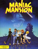 Maniac Mansion C64 cover
