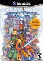 Phantasy Star Online Episode 1 And 2 GC cover