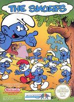 Smurfs NES cover