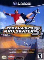 Tony Hawks Pro Skater 3 GC cover