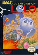 Adventure of Lolo NES cover
