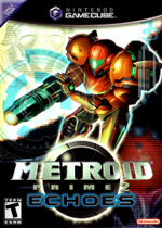 Metroid Prime 2 Echoes GC cover