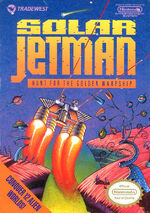 Solar Jetman Hunt for the Golden Warpship NES cover