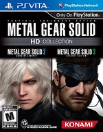 Metal Gear Solid HD Collection PSVita cover