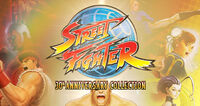 Street Fighter 30th Anniversary Collection cover