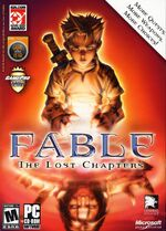 Fable The Lost Chapters PC cover