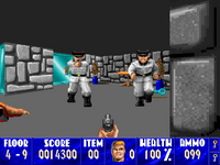 Wolfenstein 3D Mac screenshot