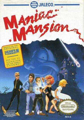 File:Maniac Mansion NES cover.jpg