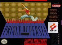 Prince Of Persia SNES cover