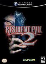 Resident Evil 2 GC cover