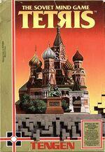 Tetris Tengen NES cover