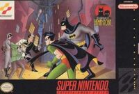The Adventures Of Batman And Robin SNES cover