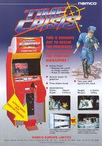 Time Crisis arcade flyer