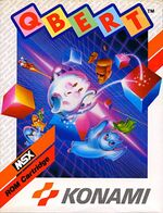 Qbert MSX cover