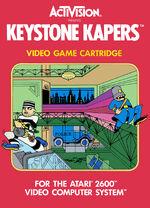 Atari 2600 Keystone Kapers box art