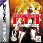 GBA Zone of The Enders - The Fist of Mars Box tmb
