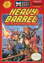 Heavy Barrel NES cover
